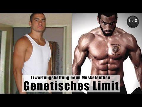 Genetisches Limit & Erwartungshaltung beim Muskelaufbau - Wo liegt die naturale Grenze ?! // T2