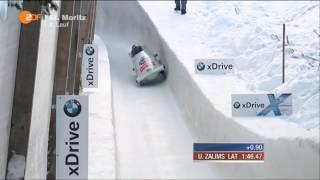 Latvia 4 Man Bob Fail Winterberg 25.01.2015