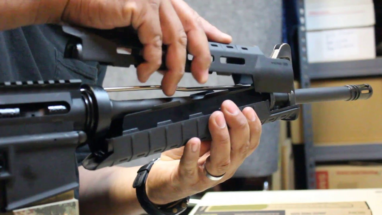 Magpul Sl Handguard Install Easy Method Youtube