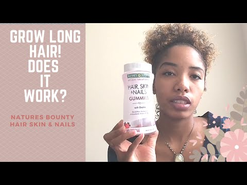 Nature's Bounty Hair, Skin & Nails: Vitamin Review-2 Mo ...