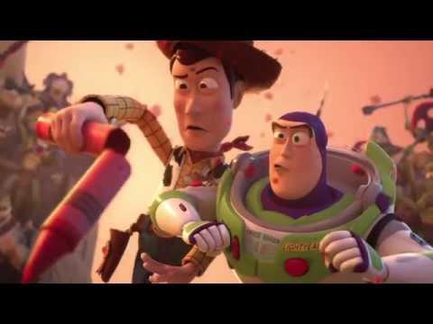Toy Story That Time Forgot Clip: Bonnie's Toys Vs. Reptillus Maximus