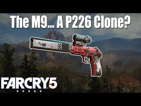 Beretta M9 added to Far Cry 5! thumbnail