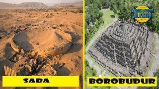 AJAIB ! Candi Borobudur Adalah Peninggalan Nabi SUlaiman ? Yang Disebut Negeri Saba Dan Atlantis ?