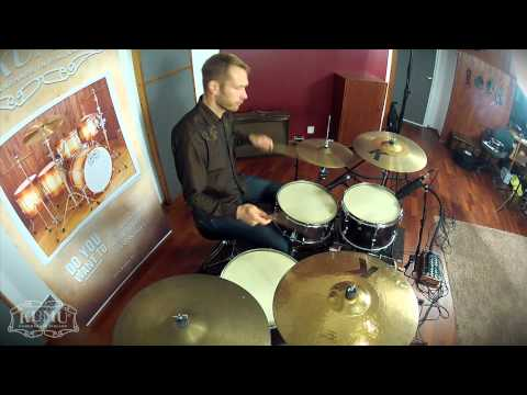 Kumu VintageFlat drums - Sami Kuoppamäki