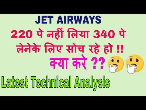 JET AIRWAYS || 220 पे नहीं लिया 340 पे लेनेके लिए सोच रहे हो || क्या करे ?? || Latest Analysis || TT
