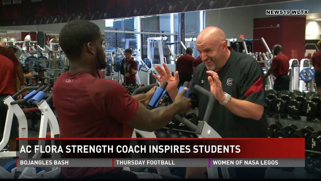 Micah Kurtz High School Strength & Conditioning WLTX News Feature
