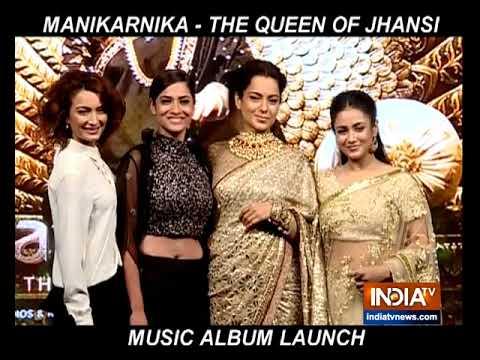 Manikarnika music album launch: Kangana Ranaut, Ankita Lokhande and others attend Mp3