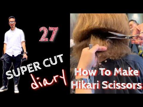 Super Cut #27 - How to make Hikari Scissors (part 1)