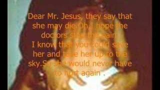 Dear Mr. Jesus lyrics