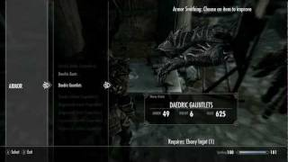 daedra armor- skyrim