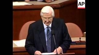 USA: PRESIDENT CLINTON IMPEACHMENT LATEST (2)