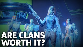 Destiny 2 - Why You Should Join A Clan