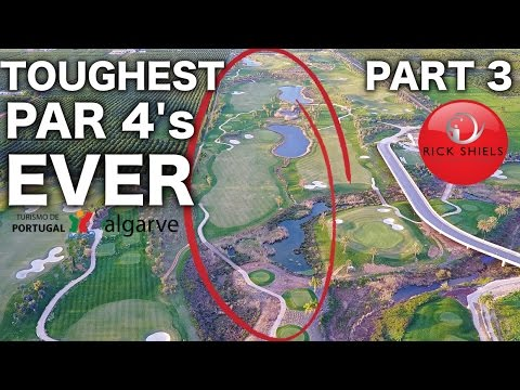 TOUGHEST PAR 4'S EVER! O'CONNOR JR COURSE PART 3
