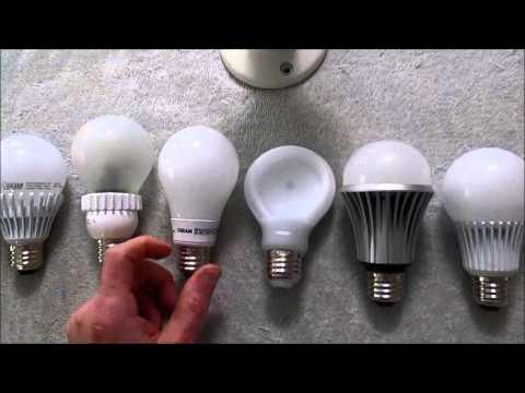 LED lightbulb RFI test