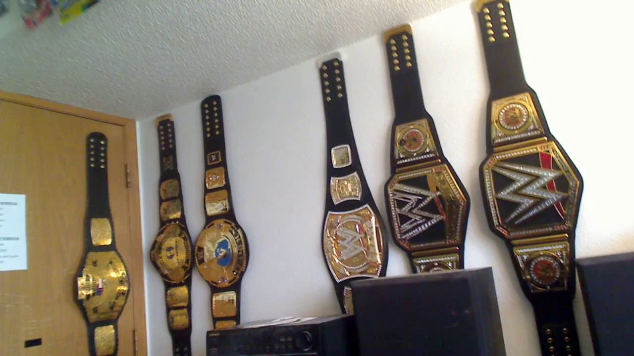 new wwe replica and wall display youtube. Black Bedroom Furniture Sets. Home Design Ideas