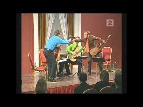 Baltic Guitar Quartet plays Malamatina by Carlo Domeniconi