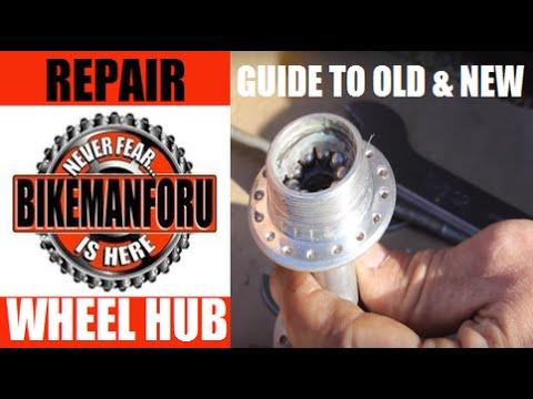 All About Hubs -  BikemanforU Repair Guide - Axles To Wheel Bearing Tension