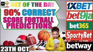 Correct Score Football Betting Tips & Predictions Today/Soccer Predictions Today/Google Ads/Gmail/ screenshot 1