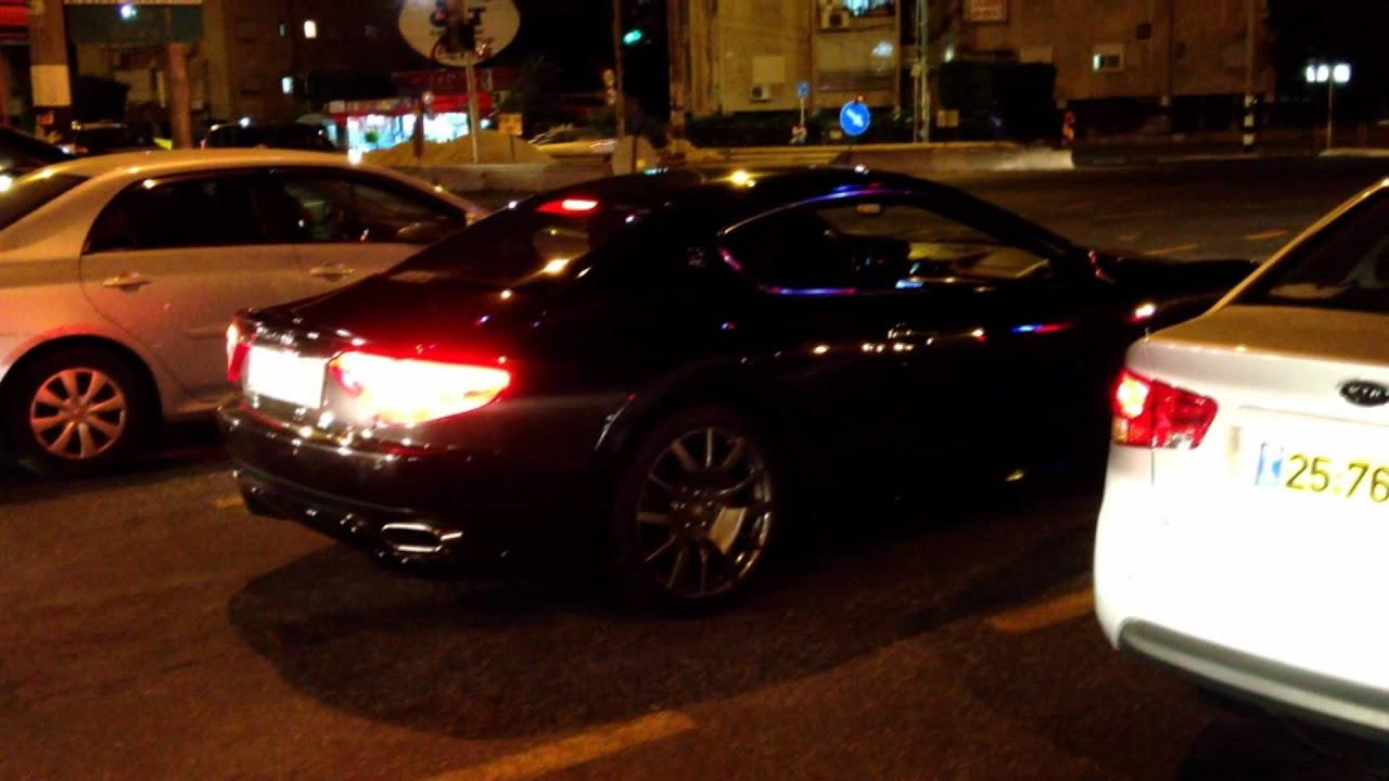 מאוד Maserati GranTurismo S in Israel - Acceleration and Sound! מזראטי GC-26