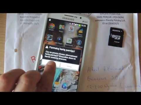 Świat Komputerów Krzysztof Kosiński - reklamacja karty SDHC
