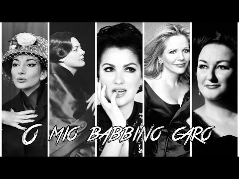 The Greatest opera Divas singing «O mio babbino caro»