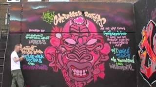 Graffiti artist Solo One