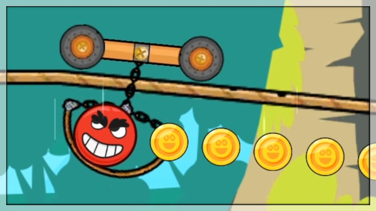 Download Red Ball Czyli Czerwona Piłka w Roller Ball 4 🥵 Gry Na Androida i Gry Na Telefon | #2