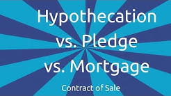 Hypothecation vs. Pledge vs. Mortgage | Formation of the Contract of Sale | CA CPT | CS & CMA