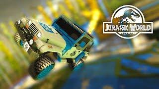 Découverte du DLC Jurassic World (+ concours) – Rocket League FR