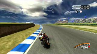 MotoGP 08 - XBOX 360. Phillip Island Fast lap.