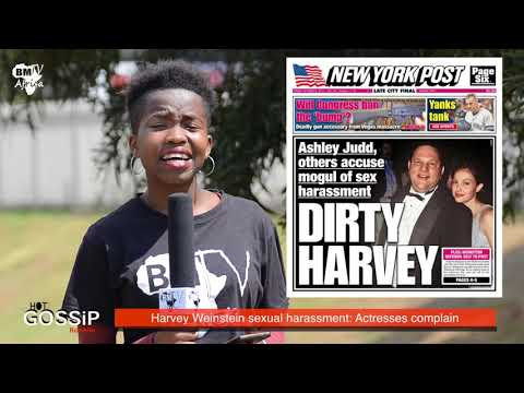 Hot Gossip : Harvey Weinstein sexual harassment  Actresses complain