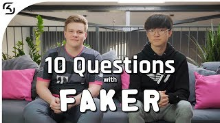 10 Questions with SKT T1 FAKER I League of Legends