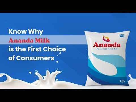 Know why Ananda Milk is First Choice of Consumers