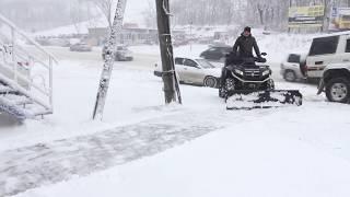 Снегоуборочный отвал для квадрацикла(Снегоуборочный отвал на снегоход. Отвал подходит на все модели квадроциклов. Материал изготовления сталь,..., 2014-12-01T05:03:22.000Z)