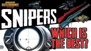 PUBG Mobile SNIPER RIFLE BREAKDOWN - Which Should I Use?