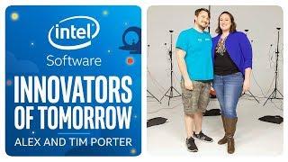 Alex and Tim Porter | Innovators of Tomorrow | Intel Software thumbnail