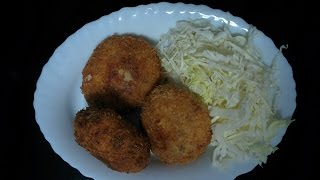 Korokke (Japanese Croquette) Ground Pork , Ground Beef and Potato Recipe