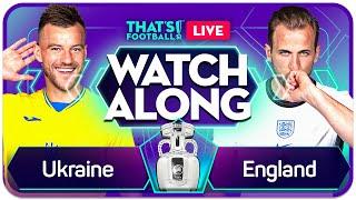 ENGLAND vs UKRAINE EURO 202O Watchalong Mark GOLDBRIDGE LIVE