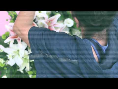 HatyaiFlorist Channel ตอน เบื้องหลังการทำพวงหรีดง่ายๆ ด้วยดอกไม้สด 1