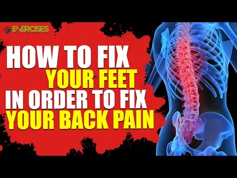 how to fix lower back pain youtube