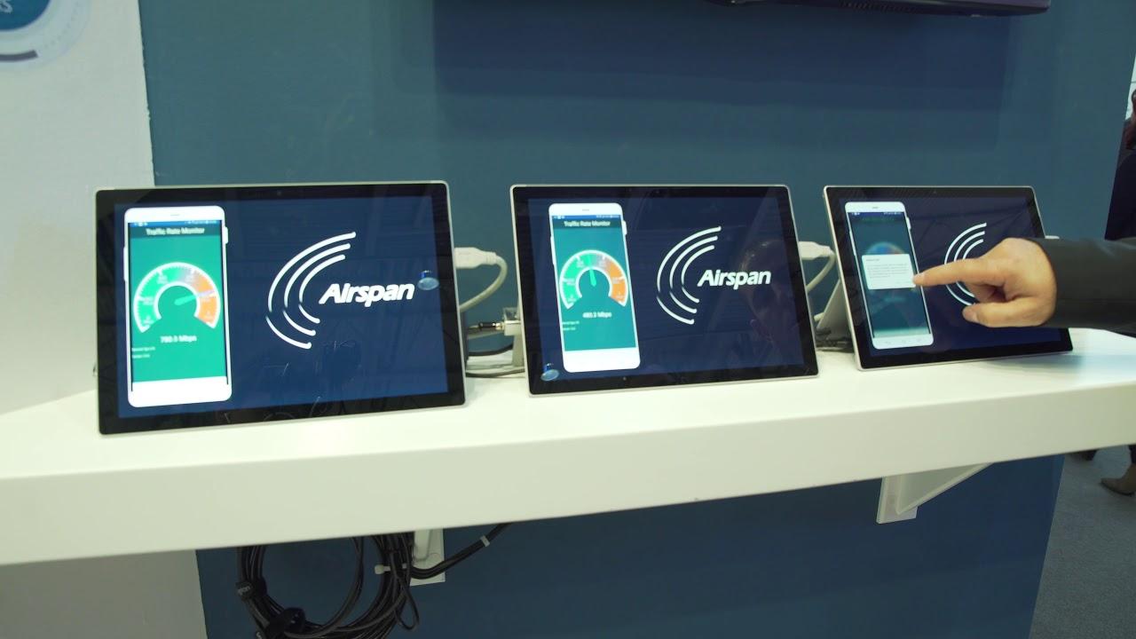 Airspan Demos AirSymphony Platform