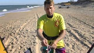 How to RIG & SELF LAUNCH an EPIC kite.m4v