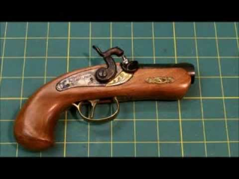 CVA Philadelphia blackpowder Derringer