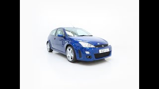 A Pristine Ford Focus RS Mk1 Build Number 3083 with Just 4,444 Miles from New - £49,995