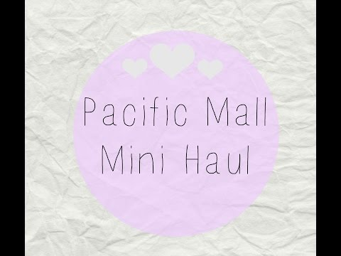 Pacific Mall Mini Haul| TONYMOLY, It'S SKIN (잇츠스킨) and Ichiban Japanese Dollar Store|