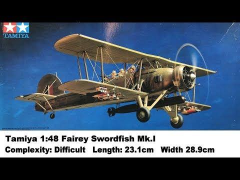 Tamiya 1:48 Fairey Swordfish Mk.I Kit Review