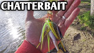 Bank Fishing with a Z-Man Project Z Chatterbait - Bass Fishing