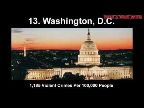 20 Most Dangerous Big Cities in the United States