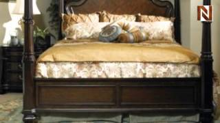 Wellingsley King Post Bed With Canopy C7008-03-99-04-08-09 By Fairmont Designs