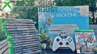 My Xbox One Game Collection! (August 2015)